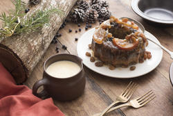 17179   Tasty traditional Christmas plum pudding