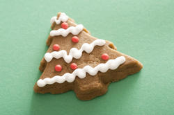13140   Christmas tree gingerbread cookie