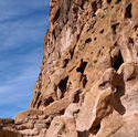 12214   Rocky Cliffs at Bandelier National Monument