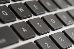12730   Close up Black Computer Keyboard