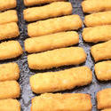 12750   tray filled with baked fishfingers