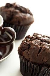 12327   Dark brown chocolate muffin