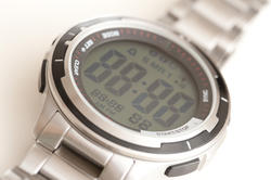 11887   Digital wrist watch