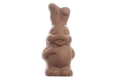 13474   Happy fat little chocolate bunny Easter egg