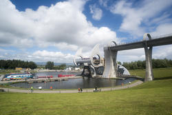 12809   Picturesque view of the Falkirk Wheel, Scotland