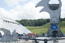 12810   Raised portion of the Falkirk Wheel in Scotland