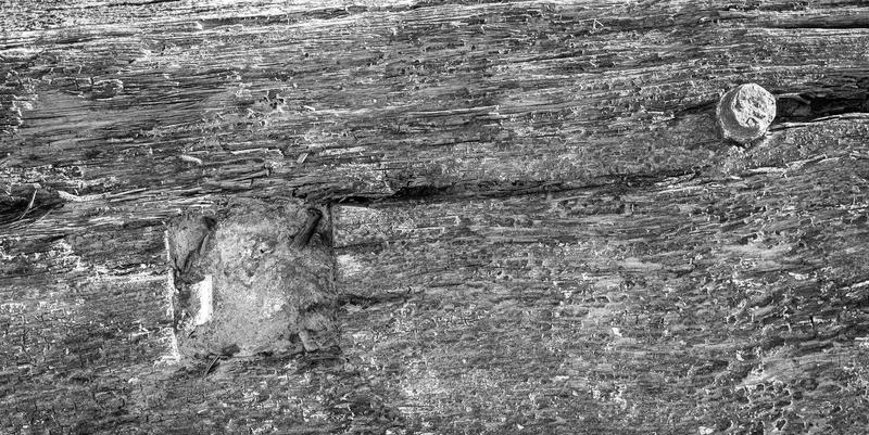 <p>Old wood photographed in black and white</p>