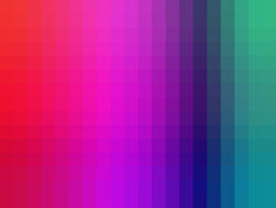 12651   background of vibrant pixels