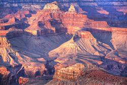 12703   Grand Canyon Interior at Evening