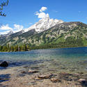 12699   Grand Tetons Jenny Lake and Peak