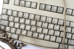 13797   Old dirty grungy computer keyboard