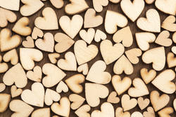 13497   little wooden hearts