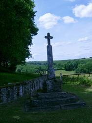 16384   historic stone cross