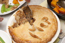 12296   meat pie with flaky crust