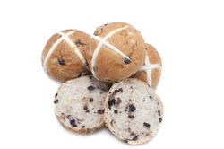 13485   fruity Easter Hot Cross Buns