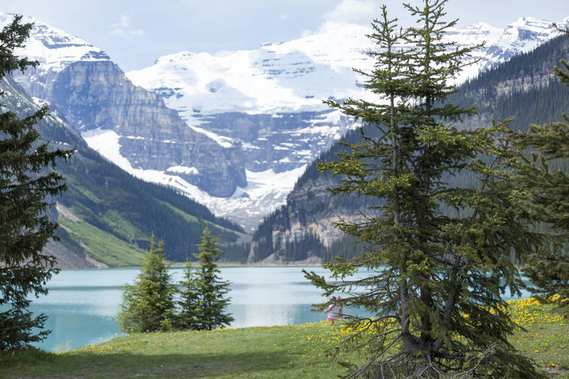 <p>Lake Louise in Alberta, Canada</p>