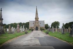 17041   Layton Cemetery, Blackpool. UK