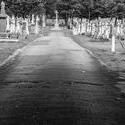stock image 17045   Layton cemetery / graveyard