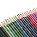 12173   Line of various colored pencils