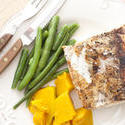 12357   mackerel with squash and beans