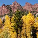 16103   Maroon Lake Golden Autumn I