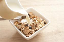 12268   milk poured into breakfast cereal