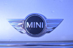 16872   BMW Mini hood badge or logo