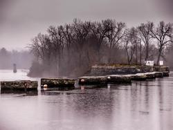 12028   misty rainy river