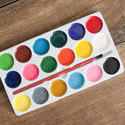 12179   New watercolor palette with brush