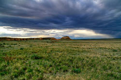 16112   Pawnee Buttes Cloudscape