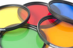 12187   Set of colorful optical photographic filters