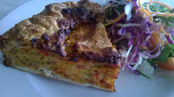 12303   quiche with salad