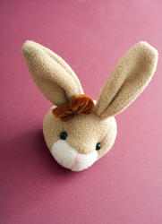 13462   Head of a cute long eared Easter bunny