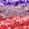11935   Sparkling Glitter Divided into Separate Colors