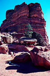 16118   Red Rocks Amphitheatre Ship Rock