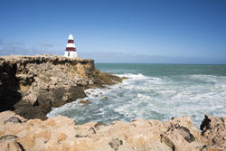 17009   Rough seas on the coast of Robe Australia
