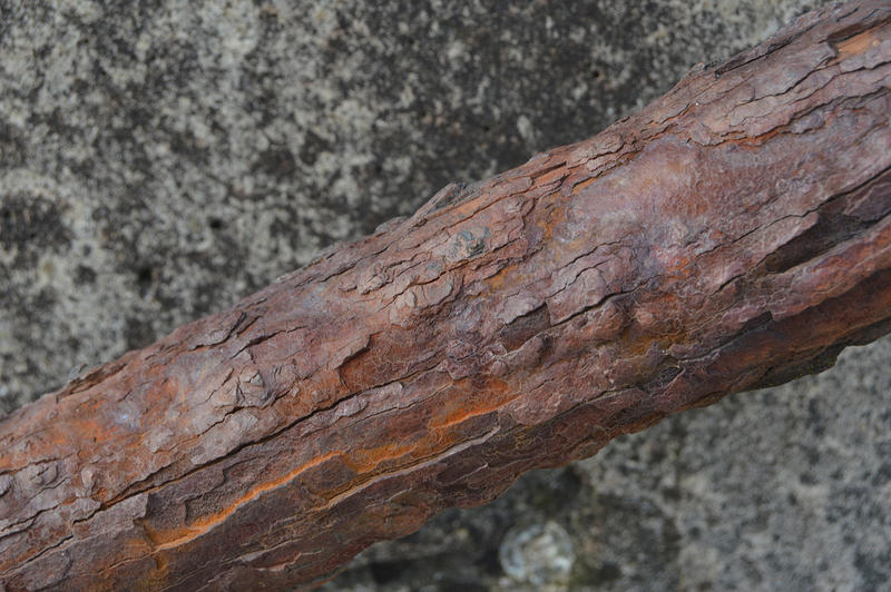 15639   Rust on a handrail