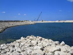 13173   sea defences construction