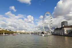 13218   south bank london featuring london eye.