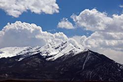12216   Tenmile Range From Lake Dillon