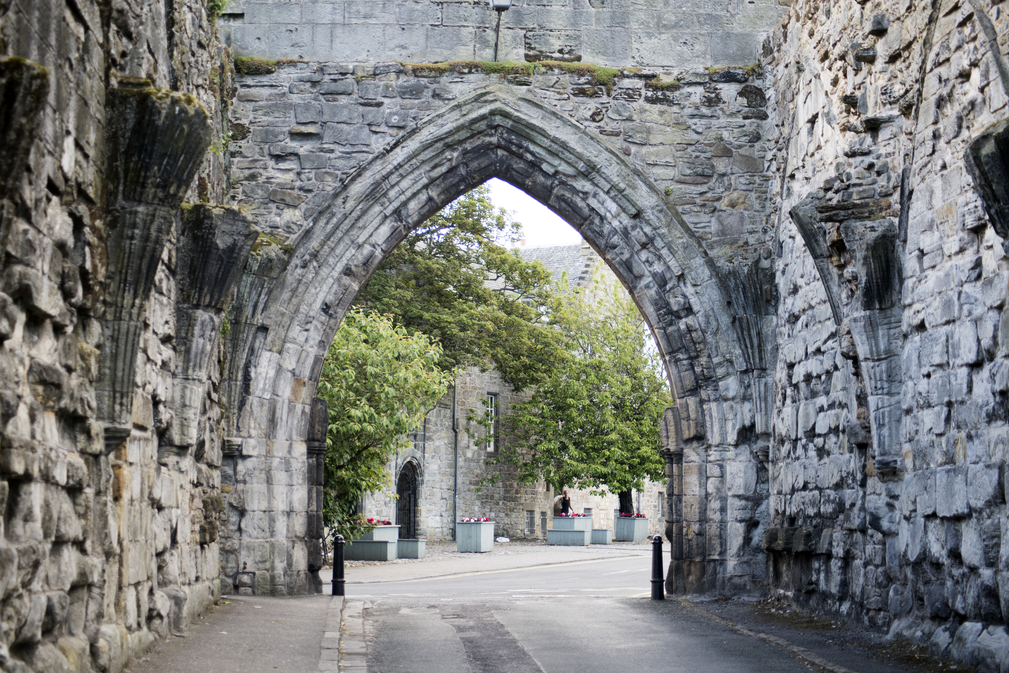 Free Stock Photo 12796 Ancient Gothic Arch St Andrews