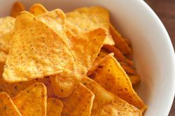 12773   crunchy tortilla chips