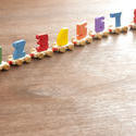 11945   Wooden toy train with numbers for counting