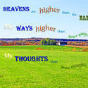 17468   God's Ways Thoughts Higher