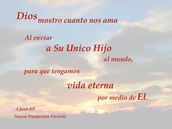 17531   Dios Mostro Cuanto Nos Ama