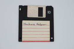 17466   Floppy disk with Hackers Helper