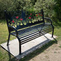 17420   Bench at Fylde Memorial Arboretum