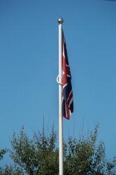 17419   Flag at Memorial park