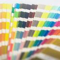 17324   A pantone colour chart