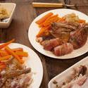 17269   Servings of Turkey roast dinner for Thanksgiving
